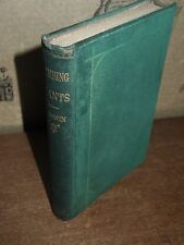 1891 MOVEMENTS & HABITS OF CLIMBING PLANTS BY CHARLES DARWIN 5th THOUSAND