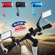 Rear View Rearview Mirror Bicycle Bike Cycling Handlebar Rectangular 1 Pair