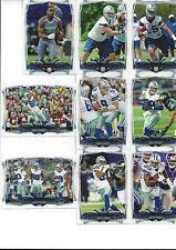 2014 Topps Dallas Cowboys Team Set Tony Romo Jason Witten Dez Bryant Martin R 12