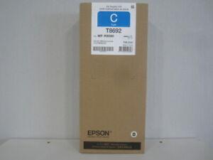 Original EPSON Tinte T8692 Cyan für WorkForce Pro WF-R 8500 Series Neu & OVP