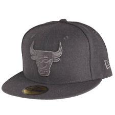New era 59 fifty Cap-Graphite chicago bulls gris