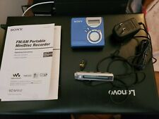 New listing Sony mz-nf610 minidisc with remote ac adapter and three disks Tested great shape