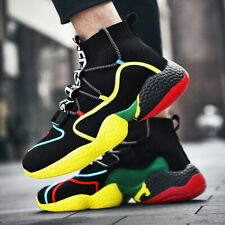 Men's Fashion High Top Sneakers Outdoor Lightweight Tennis Sports Running Shoes
