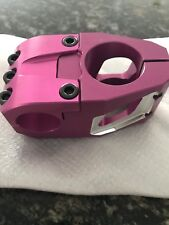 "BOMBSHELL BMX RACING Stem 38mm pink/purple 1"""