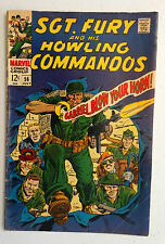 "Silver Age MARVEL Comic ""SGT.FURY"" #56-July1968-Good Cond."