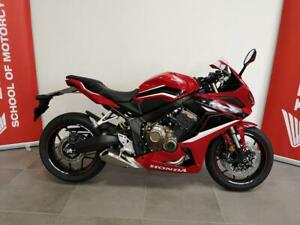 Honda CBR650R 2021 ABS in Red