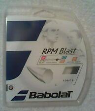 NEW Babolat RPM Blast 18 G Guage 1.20 Tennis String Black 40 Ft Set