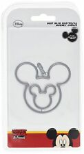 Disney Vintage deep Dish Universal Mickey Mouse Die Set, Silver