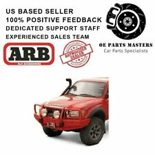 Arb Front Winch Hd Bumper With Grille Guard Deluxe Full Width Black 3423020 Fits Tacoma