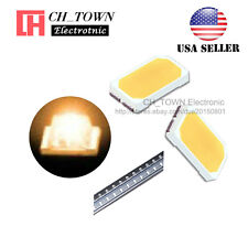 100PCS 5730 Orange Light SMD SMT LED Diodes Emitting Ultra Bright USA