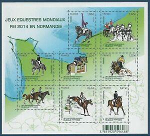 F4890 - FEUILLE DE TIMBRES NEUFS - Sport Jeux équestres mondiaux // 2014