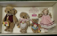 Steiff & Suzanne Gibson Goldilocks and the Three Bears - 1985 NEW in Box Set