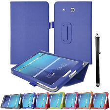 """Flip Leather Folio Stand Case Cover Samsung Galaxy Tab A 10.1"""" Tab E 9.6 Tab 3/4"""
