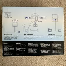 TRENDnet Powerline 500 AV Kit with Wi-Fi Extender, Model TPL-410APK