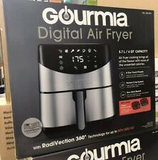Gourmia Digital Stainless Steel 6 Qt/5.7L Digital Air Fryer Brand New