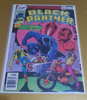 Black Panther #14 Mar. 1979 Bronze Age Marvel📖 1st Print NM+ 9.6 Feat: Avengers