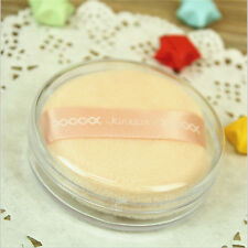 1 Set Cosmetic Powder Puff Sponge With Box Container Case Tool Soft Face Body
