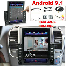 Android 9.1 HD 9.7inch Car Stereo Radio Player WIFI GPS Nav Mirror Link OBD DAB