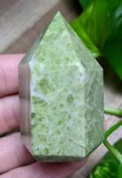 ONE (1) VESUVIANITE Chunky Abstract Wand Crystal Reiki Charged *Read Below*