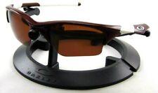 New Oakley Half Jacket 1.0 Sunglasses Maroon Frames/ Brown XLJ Polarized Lenses
