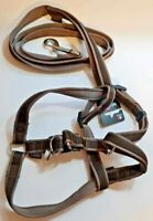 Designer (Bobbys) Nylon Large Dog Harness and Lead Set (Fantastic Quality) Large