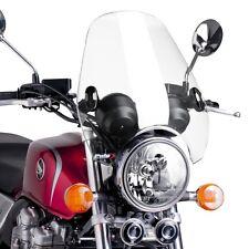 Pare brise Puig C2 pour Harley Davidson Dyna Street Bob (FXDB) saute vent cl