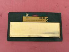 brass victorian letter flap 11 x 3.3/8