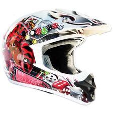 THH Blanco Joker TX12 Casco de Motocross