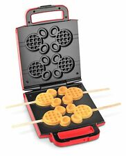 Disney Dcm-41 Classic Mickey Waffle Stick Maker Red