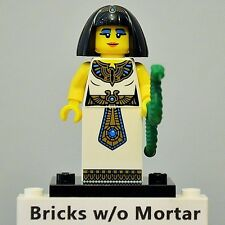 New Genuine LEGO Egyptian Queen Minifig with Snake Series 5 8805