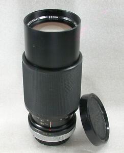 Vivitar 75-205mm F3.8 Manual Focus Zoom Lens, Canon FD Fit No. 2213 9061
