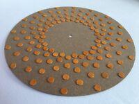 Vibes Audio Lab Turntable Vinyl Record Platter Mat(Thorens,Rega,Linn,Pro-Ject)