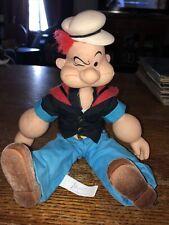 Popeye 1985 Hamilton King Features Presents 19� Doll
