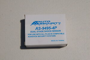 Audiovox AS-9495-4P Dual Stage Shock Sensor - NEW UNOPENED