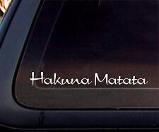 Hakuna Matata Car Decal/Sticker