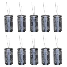 10 Pcs 18x35mm 100uF 400V Polarized Aluminum Electrolytic Capacitors U1P9