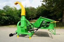 Victory BX-102 HOLZSCHREDDER BUSCHHACKER bis 24cm Holz TRAKTOR Hydraulik Kat II
