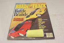 ROAD & TRACK: BATTLE OF THE BRANDS JANUARY 2001 VOL.52 (OAK9677-1 [BOX R] #1301)