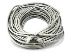 Cat5e Ethernet Patch Cable Rj45 Stranded 350Mhz Wire Crossover 24Awg 100ft Gray