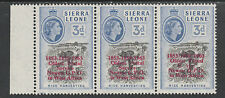 Sierra Leone 3911 - 1963 POSTAL  COMMEMORATION 3d VARIETY unmounted mint
