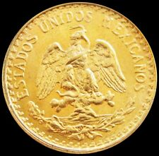 1945 GOLD MEXICO 2 PESOS COIN 1.666 GRAM UNCIRCULATED CONDITION MEXICO CITY MINT