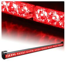 "35"" 36"" 32 LED Emergency Traffic Advisor Light Bar Flash Strobe RED"