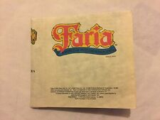 Faria Map Nintendo Entertainment System NES Nexoft Mail Away Exclusive Rare