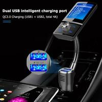 BC43 Bluetooth FM Transmitter MP3 Player USB KFZ Auto TF AUX-Freisprechanlage