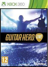 Guitar Hero Live - Rare 2 disc Edition Xbox 360 Game UK Seller PAL