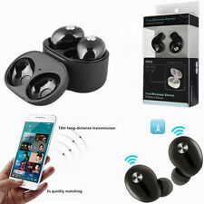 Wireless Bluetooth Stereo In-Ear Headset Earphone Earbuds for iPhone 8 X Android