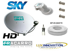 Parabola satellitare fracarro hd sky kit completo antenna parabolica offerta