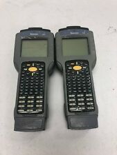 intermec 2435 Barcode Scanner Reader Lot of 2 For Parts or Repair Only