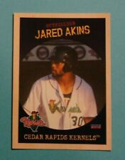 2019 Choice, Cedar Rapids Kernels - Update - JARED AKINS