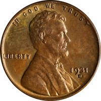 1931-D Lincoln Cent Great Deals From The Executive Coin Company - BBSC23627